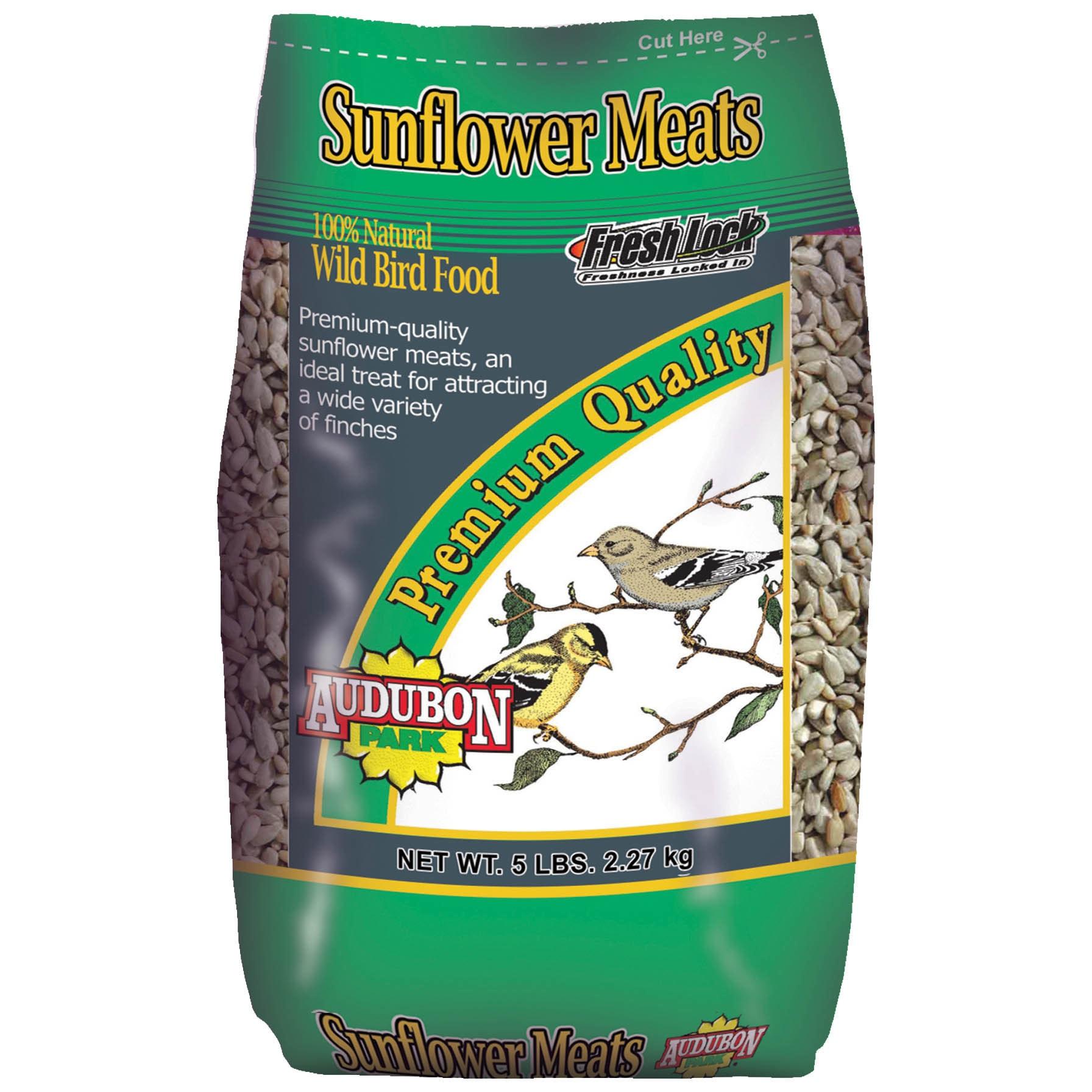 Audubon Park 5 Lb Sunflower Meats Wild Bird Food (5 LB)