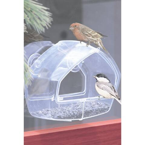 Birdscapes 1 Cup Capacity Window Wild Bird Feeder