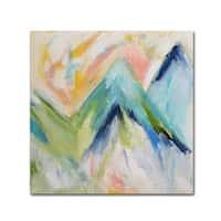 Carrie Schmitt 'Denver Surprise' Canvas Art