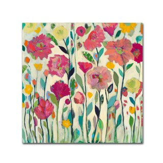 Carrie Schmitt 'She Lived in Full Bloom' Canvas Art