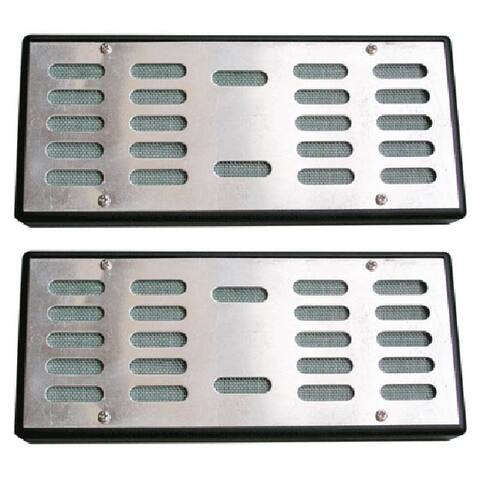 Visol Silver Humidifier For Medium/Large Cigar Humidor - Pack of Two