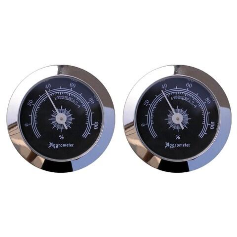 Visol Cigar Humidor Analog Hygrometer - Pack of Two