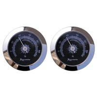 Visol Cigar Humidor Analog Hygrometer - Pack of Two
