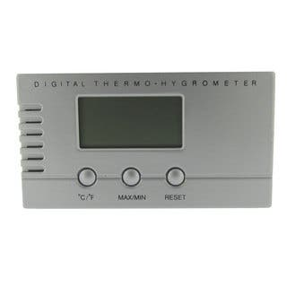 Visol Silver Digital Hygrometer for Cigar Humidors|https://ak1.ostkcdn.com/images/products/14987526/P21488423.jpg?impolicy=medium
