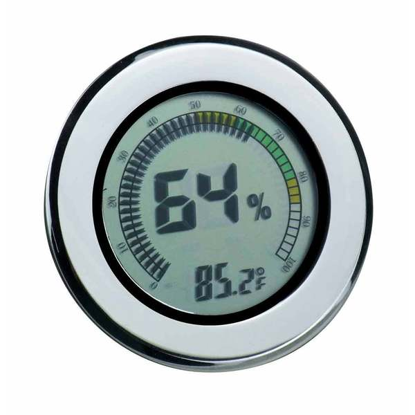Visol Modern Circular Digital Hygrometer