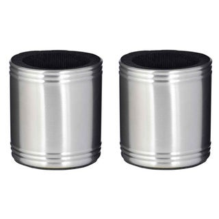 Set of Two (2) Visol Taza Stainless Steel Can Holders