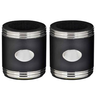Visol Taza Black & Steel Can Holder - Set of Two https://ak1.ostkcdn.com/images/products/14987599/P21488437.jpg?impolicy=medium