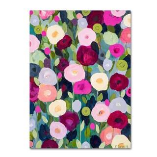 Carrie Schmitt 'Night Garden' Canvas Art