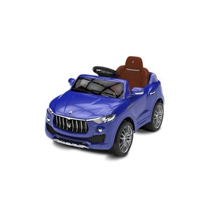 Best Ride on Cars Kids Blue Maserati 6V Battery Powered Ride-on Car