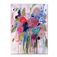Carrie Schmitt 'Fresh Bouquet' Canvas Art