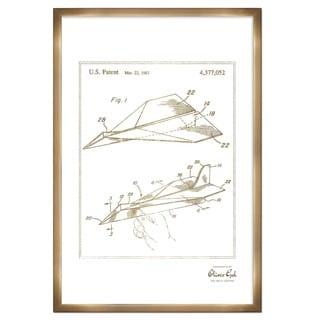 Oliver Gal 'Golf Club 1903, Gold Metallic' Framed Art