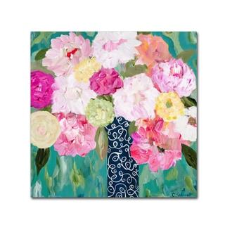 Carrie Schmitt 'Botanical Splash' Canvas Art
