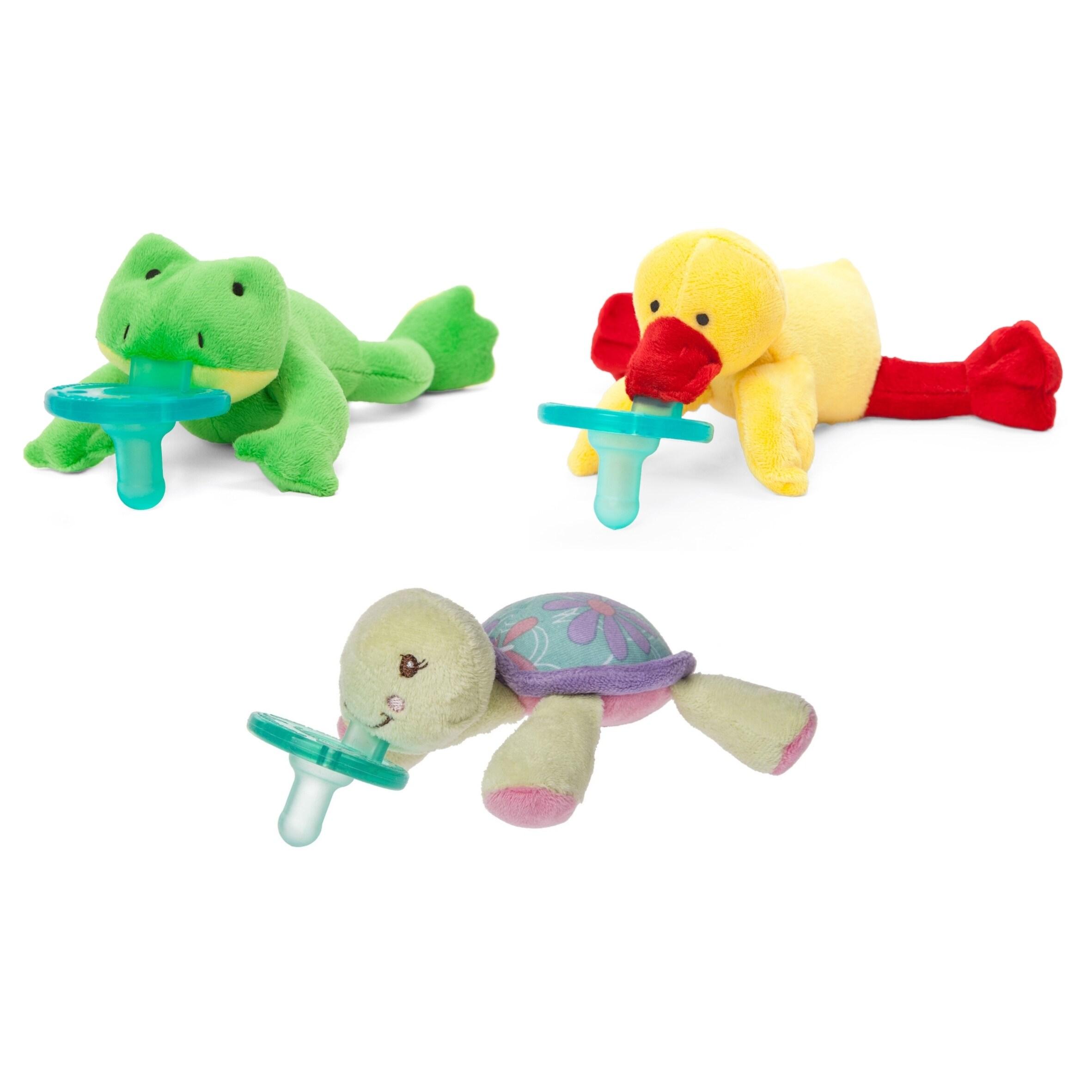 Wubbanub Lake Buddies Infant Pacifier (3 Pack) (Multicolo...