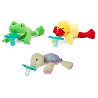 WubbaNub Lake Buddies Infant Pacifier (3 Pack)