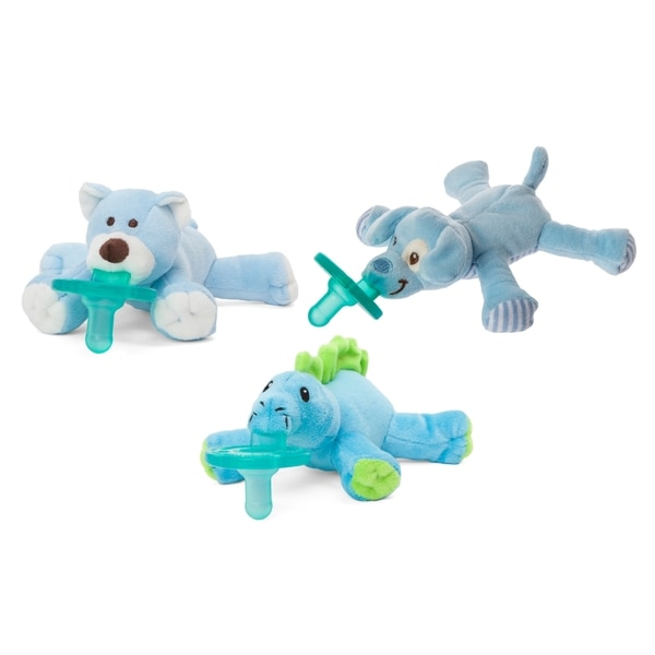 Shop Wubbanub Baby Boy Infant Pacifier 3 Pack Free Shipping On