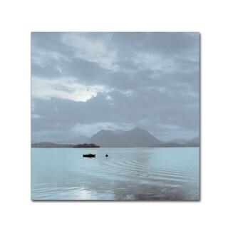 Alan Blaustein 'Lake Vista VII' Canvas Art