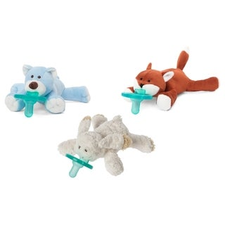 WubbaNub Woodland Infant Pacifier (3 Pack)
