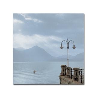Alan Blaustein 'Lake Vista VIII' Canvas Art