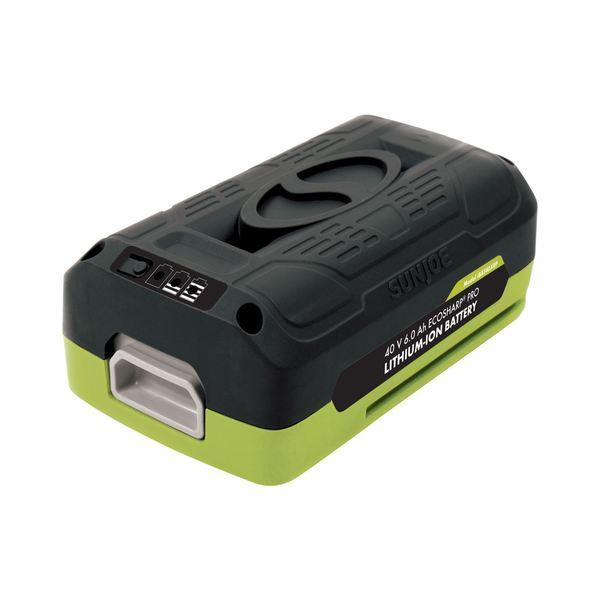 Snow Joe + Sun Joe 40V 6.0 Ah EcoSharp Lithium-Ion Battery