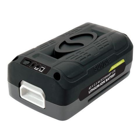 Snow Joe + Sun Joe 40V 2.5-Ah EcoSharp Lithium-Ion Battery