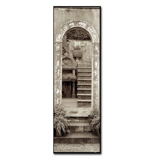 Alan Blaustein 'Lombardy V' Canvas Art