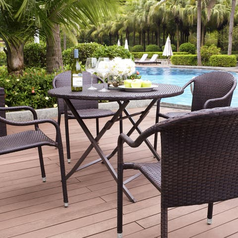Palm Harbor 5 Piece Café Dining Set