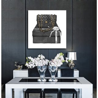 Oliver Gal 'Boxed Beauty' Canvas Art - Black
