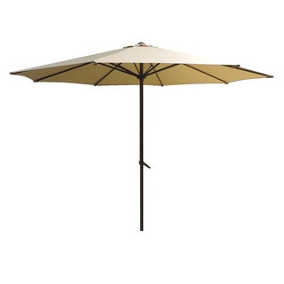 LAUREN & COMPANY 9' AUTO TILT UMBRELLA WITH OLEFIN FABRIC