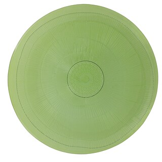 French Home 11-inch Apple Green Birch Dinner Plate (Set of 4)