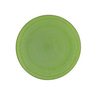 French Home Set of 4, 8-inch Apple Green Birch Salad Plate