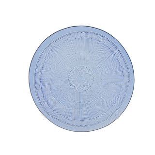 French Home Set of 4, 8-inch Sapphire Blue Birch Salad Plates
