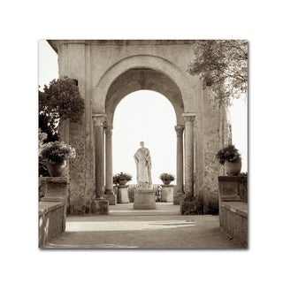 Alan Blaustein 'Giardini Italiano V' Canvas Art