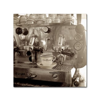 Alan Blaustein 'Tuscany Caffe I' Canvas Art
