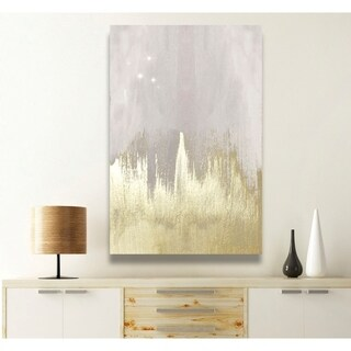 Oliver Gal 'Offwhite Starry Night' Canvas Art (More options available)
