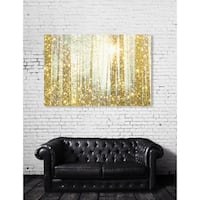 Oliver Gal 'Magical Forest' Canvas Art - GOLD
