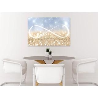 Oliver Gal 'Infinite Love Sign' Canvas Art