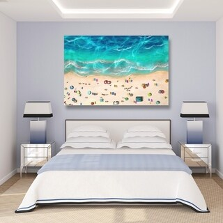 Oliver Gal 'A Day At the Beach' Canvas Art