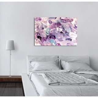 Oliver Gal 'Amethyst Gardens' Abstract Wall Art Canvas Print - Purple