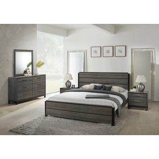 Modern Furniture Bed To Ioana 187 Antique Grey Finish Wood Bed Room Set King Size Bed Dresser Buy Modern u0026 Contemporary Bedroom Sets Online At Overstockcom Our