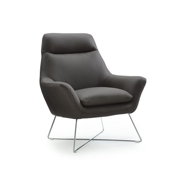 Shop Whiteline Contemporary Modern Daiana Accent Chair