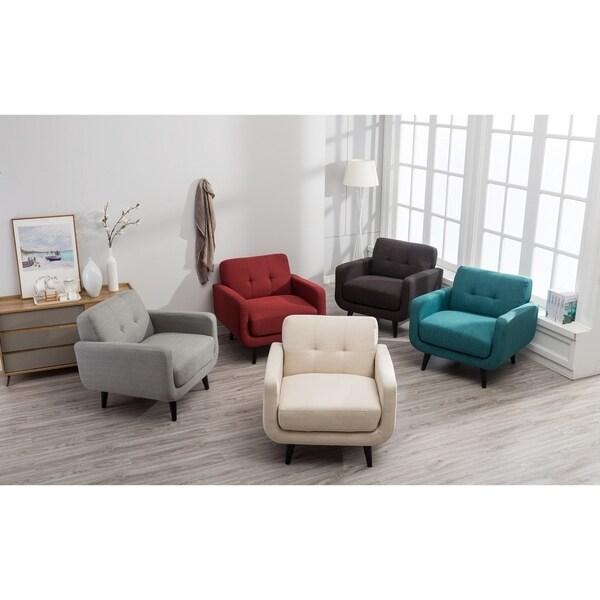 Shop Modibella Contemporary Living Room Accent Chair Free Shipping