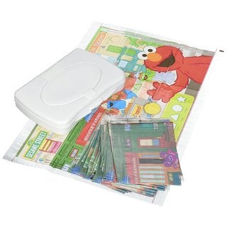 Neat Solutions Seasame Street Table Topper Disposable Placemats with Travel Case (Case of 50)