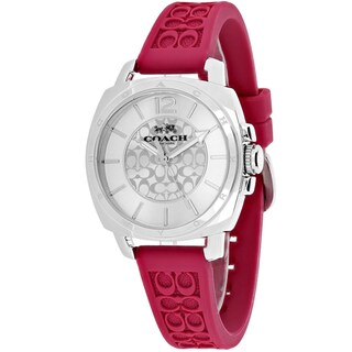 Coach Women's Boyfriend Watch in Pink