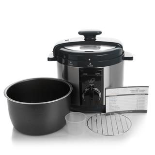 Wolfgang Puck 5qt Automatic Rapid Pressure Cooker with 44 Recipes (Refurbished)