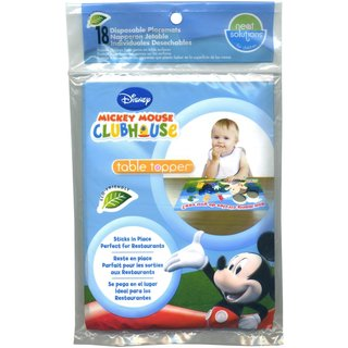 Neat Solutions Mickey Mouse Table Toppers Disposable Placemats (Case of 18)