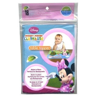 Neat Solutions Minnie Mouse Table Toppers Disposable Placemats (Pack of 18)