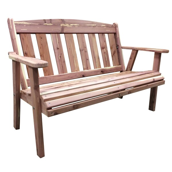 Shop Amerihome Amish Made Outdoor Bench Free Shipping Today