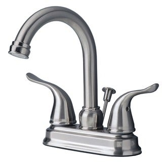 Builders Shoppe 2020 Two Handle Centerset Lavatory Faucet With Pop Up Drain