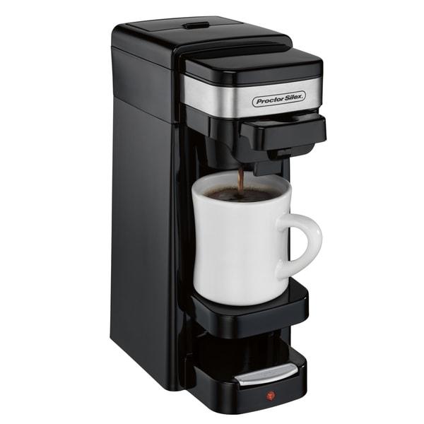 Recertified Proctor Silex Single-Serve Plus Coffee Maker (Refurbished)