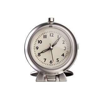 Hans Andersen Home Metal Travel Alarm Clock